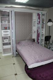 СМАРТБЕД - 120 DIY комплект полутороспальной  шкаф-кровати трансформера 120*200 см
