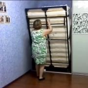 Механизм откидной кровати с автоматическими ножками  | СМАРТМЕБЕЛЬ.РФ